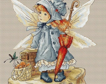 The Fairy SB1110 - Cross Stitch Kit by Luca-s