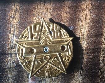 Little Orphan Annie Decoder pin/1938