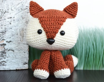 Fox Crochet Pattern. Felix The Fox Amigurumi Crochet Pattern. Cute Fox Pattern. Fox Amigurumi Pattern. Fox Downloadable PDF Crochet Pattern