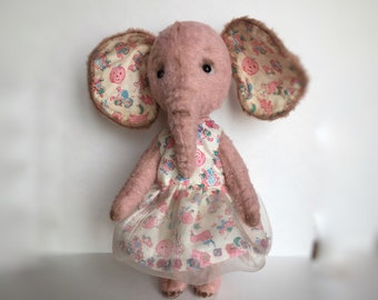 Artist Teddy Elephant girl