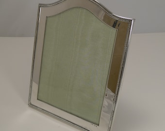 Smart Antique English Sterling Silver Photograph Frame