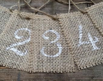 Burlap Table Numbers, Rustic Wedding Decor, Burlap Table Number Tags, Burlap Centerpieces, Mason Jar Tags