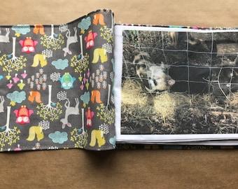 Fabric / cloth book