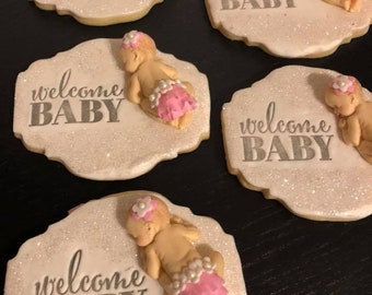 Baby shower cookies,Party favores cookies,baby cookies ,gift favores cookies