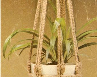 Crochet Plant Hanger Pattern