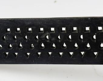 Set of 2 Wire Drawplates - Half Round - Square -Triangle - Round Wire Draw Plates