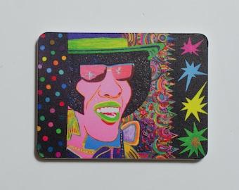 "Kurovskiy ""Sly Stone. Dance To The Music"" 2017 art magnet"