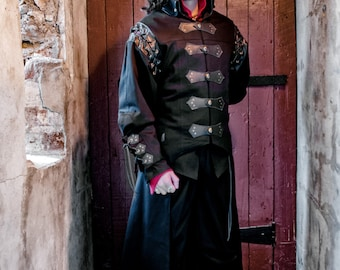Sir Jones Jacket medieval clothing for men LARP costume and cosplay