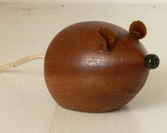Blind Mice - Cute Mice Ornaments - Made From Iroko and Mahogany Hardwoods