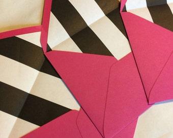 Custom Pattern Lined Envelopes