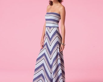 McCall's Pattern M7130 Misses' Dresses or Skirts