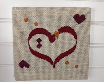 """embroidered wall hanging """"Mother"""""""