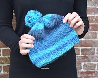Knitting Pattern The Antarctica hat, Make your own hat or beanie for Women, Knit PDF-file - Hobbydingen