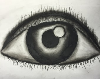 Expression-charcoal on paper