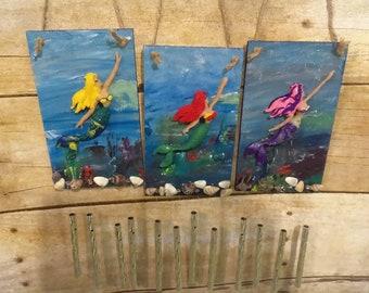 Mermaid Wind chimes