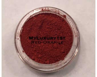Pigmented Matte 3g Egyptian Red Orange Eyeshadow Powder 3 Gram Eyelid