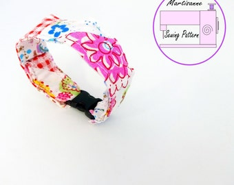 Easy sewing project,bracelet tutorial, diy gift ideas, fabric cuff bracelet, pdf sewing pattern, sew a bracelet, gift for her,, sew your own