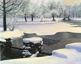 Taylor Waterfall Giclee Print