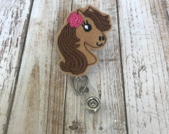 Horse | Horse Badge Reel | Badge Reel | Badge Holder | ID Badge Reel | ID Badge Holder | Ponny | Ponny Badge Reel