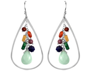 Chakra Raindrop Earrings