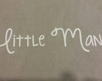 """Fusible pattern for """"Little Man"""" fabric"""
