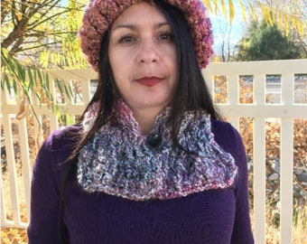Soft Coral Neck Warmer
