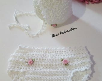 Baby Set Diaper cover + headphone