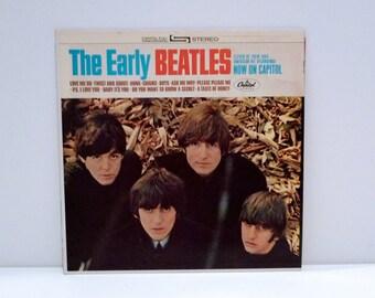 The Early Beatles Vinyl Record 1981 Reissue Vintage John Lennon Paul McCartney George Harrison Ringo Starr Purple Label Capitol Mohawk Music