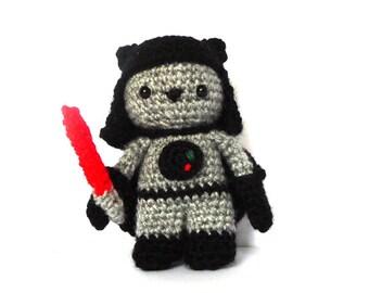 Sith Cat Amigurumi Pattern - Star Wars Crochet