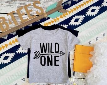 Wild One / Birthday T-shirt / Birthday Shirt / First Birthday Shirt