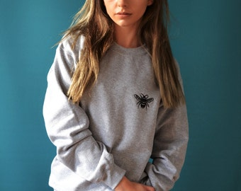 Baby Bee embroidered sweater