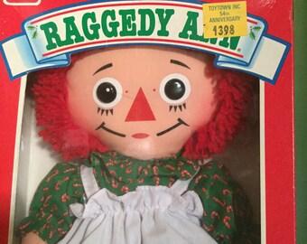 Raggedy Ann Christmas Edition, Playskool, NRFB, Vintage