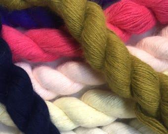40% Off Angora Wool Yarn Fingering 25g 190 Yards