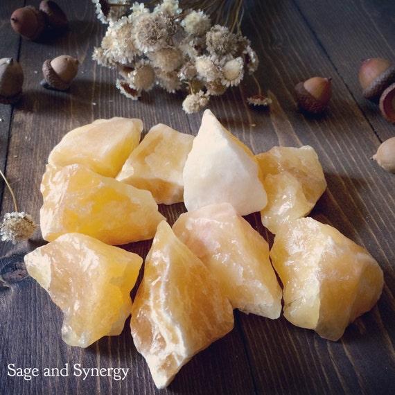 Orange Calcite, Raw Orange Calcite, Rough Orange Calcite, Raw Calcite, Orange, Calcite, Chakra Stone, Healing Crystal, Orange Calcite