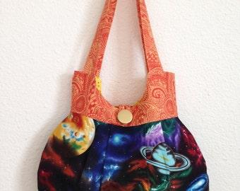 Swirly Space Bag