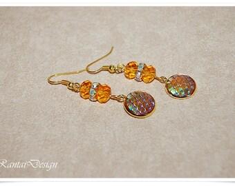 Earrings Ladies Dragon Scales