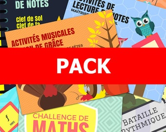 Set of digital items - music activities, music class, of course, Piano, teacher, gift