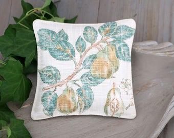 Vintage Inspired Pears, Botanical Lavender Sachet, Drawer Freshener