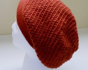 Slouchy Hat - Crochet