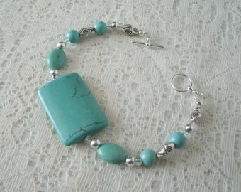 Turquoise Bracelet, southwestern jewelry southwest jewelry turquoise jewelry native american jewelry style country western bracelcet cowgirl