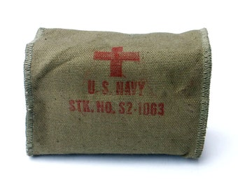 Aviator First Aid Pouch Military Surplus Survival Gear