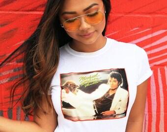 Vintage Michael Jackson Tee / 80s MTV Shirt