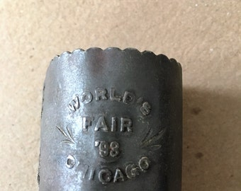 1893 Chicago World's Fair Souvenir Napkin Ring