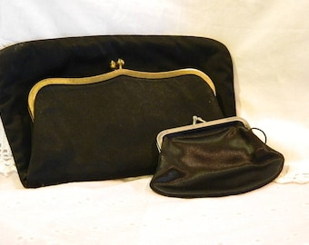 "MM ""Peau de Faille"" Clutch with Coin Purse"