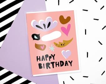 Birthday Shapes Card