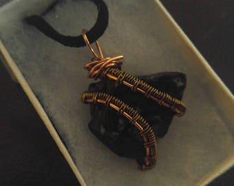 Obsidian Stone Necklace