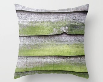 Country Home Decor, Farmhouse Pillows, Velvet Pillow, Rustic Country Decor, Cottage Chic, Green Pillow Cover, Gray Cushion, 18x18, 22x22