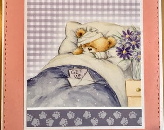 Get Well Thinking of You  Card