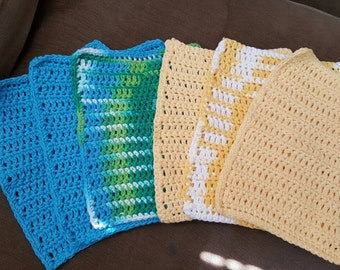 100% Cotton Dishcloth