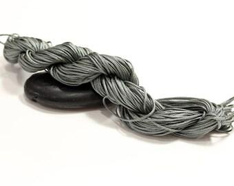 30 m cord nylon grey diameter 1.5 mm